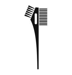 Hair dye professional brush icon simple style vector