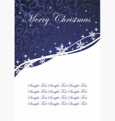 holiday postcard vector image