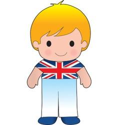 Poppy British Boy vector