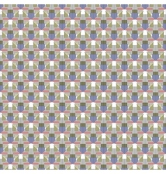 Seamless vintage fabric pattern vector image