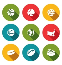Sports Icon collection vector image