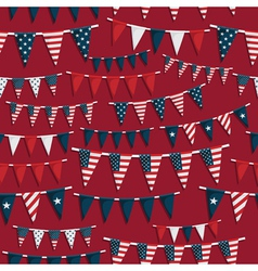 usa party pattern vector image vector image