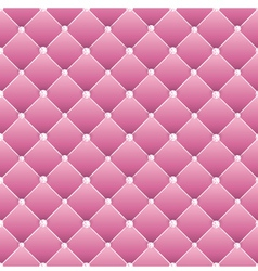 Abstract upholstery on a pink background vector image vector image