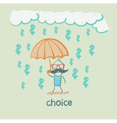 choice vector image vector image