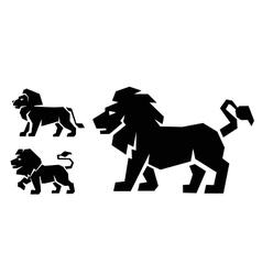 Lion icon vector image vector image