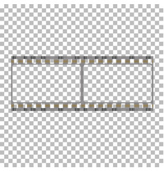 Blank film frame stock vector