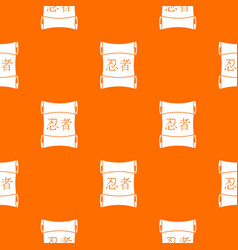 Japanese traditional scrol pattern seamless vector