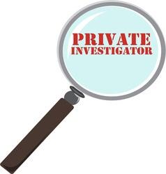 Private Investigator vector