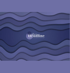 Purple corporate material waves abstract vector