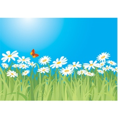 spring vector image