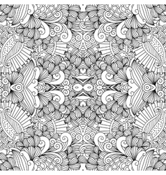 Symmetrical abstract seamless background vector image