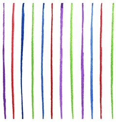 Colorful line vector image vector image