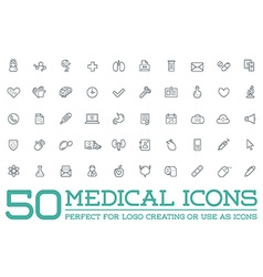 Medicine Health Symbols Icons Can Be Used as vector image