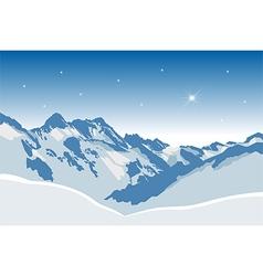Winter mountains380x400 vector