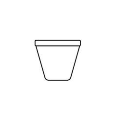 plant jar icon vector image