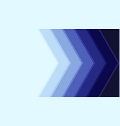 blue stack arrow abstract background with copy vector image
