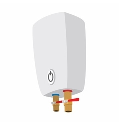 Boiler cartoon icon vector image