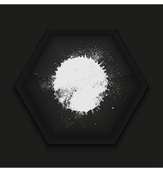 Creative icon on black background Eps10 vector