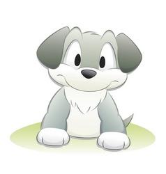 Cute cartoon dog vector