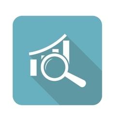 Graphic details icon square vector