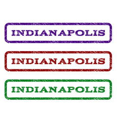 Indianapolis watermark stamp vector