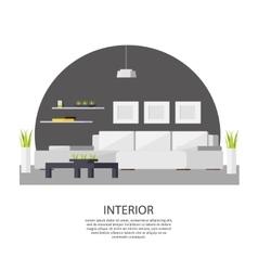 Interior Design Template vector