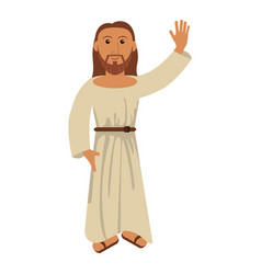 Jesus christ religion catholic image vector