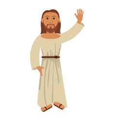 Jesus christ religion catholic image vector