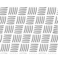 metal corrugated sheet with oblique incision vector image