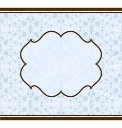 seamless background pattern and frame vector image
