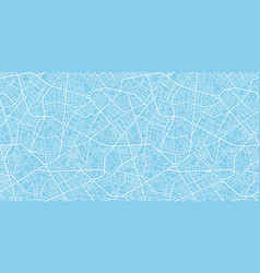 urban city map seamless texture vector image
