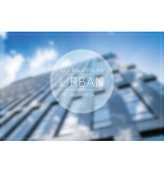 Blur business urban blue background office vector
