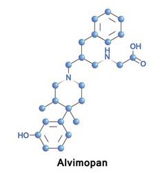 Alvimopan mu opioid antagonist vector