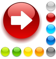 Arrow button vector
