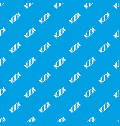 candy pattern seamless blue vector image