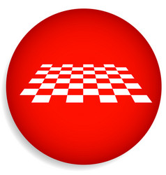 checkered surface vector image