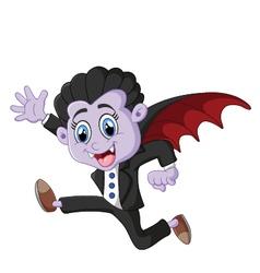 Dracula cartoon vector