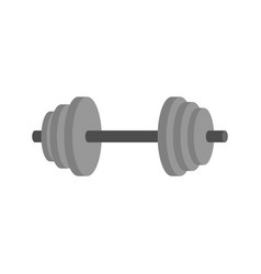 dumbbell isolated fitness equipment sports vector image