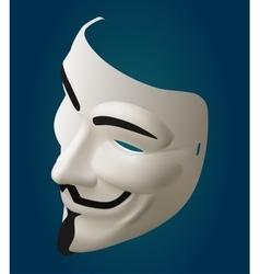 Mask isometric vector