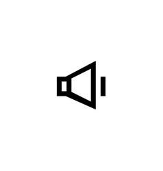 volume icon symbol sign vector image