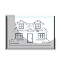 Architecture plans graphi design icon vector image