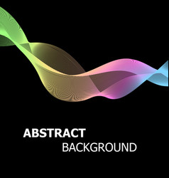 abstract background with colourful pastel line vector image