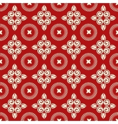 Christmas seamless floral vector image vector image