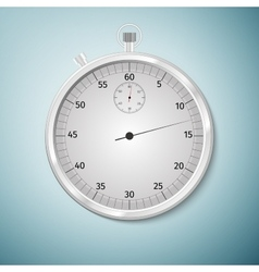 Realistic image of a sports stopwatch Symbol vector image vector image