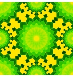 Yellow and green blended transparent rectangles on vector image vector image