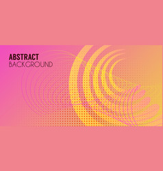 Abstract background design landing page vector