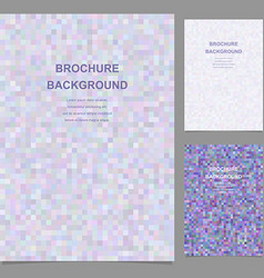 Abstract brochure template design vector