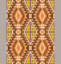 An interesting seamless pattern vector