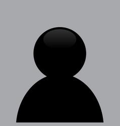 avatar photo placeholder icon design vector image