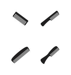 comb hair icon design vector image